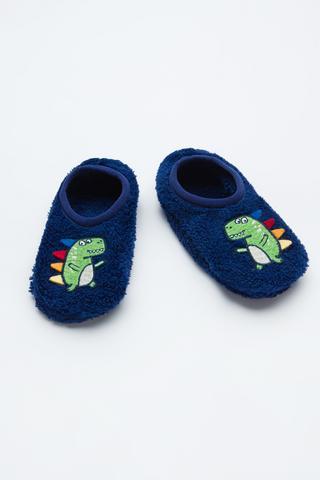 Boys Dino 3D Liner Socks