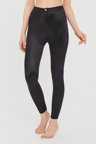 Colan?i Shiny Button Detailed Legging