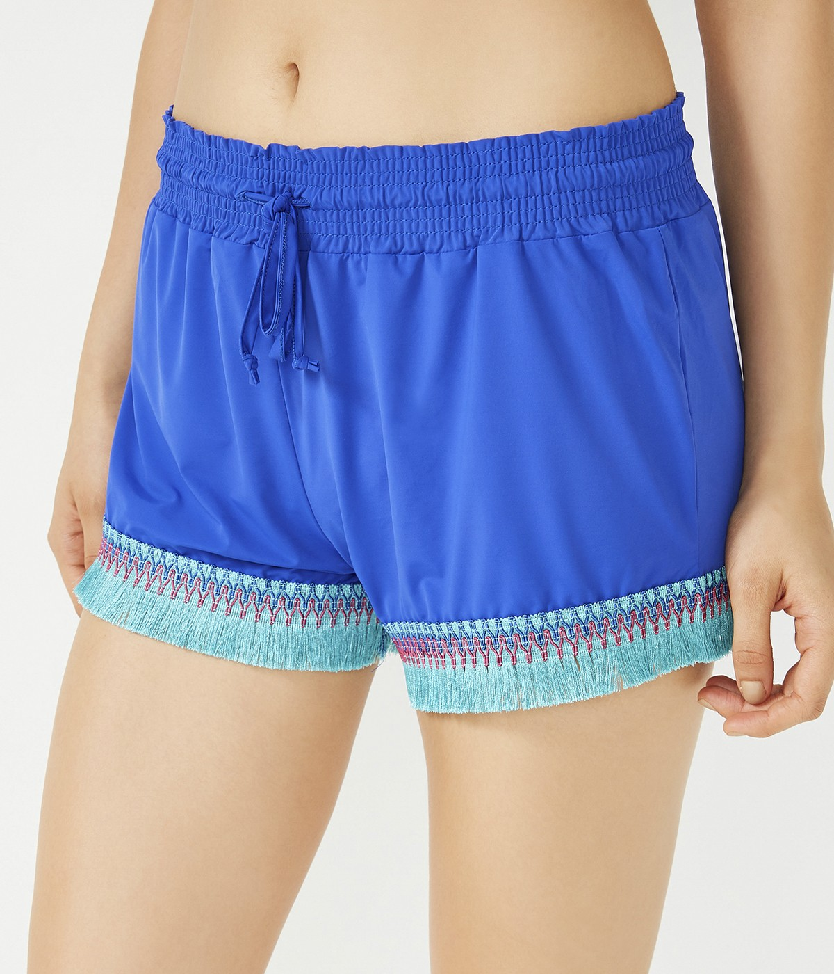 Marine Trimmed Shorts