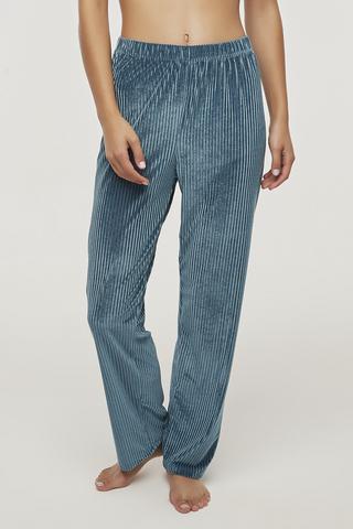 Pantoloni Teal Velvet