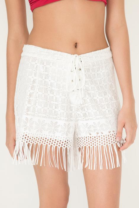 Western Lace Shorts