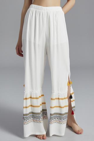 Pantalon Tassel Side