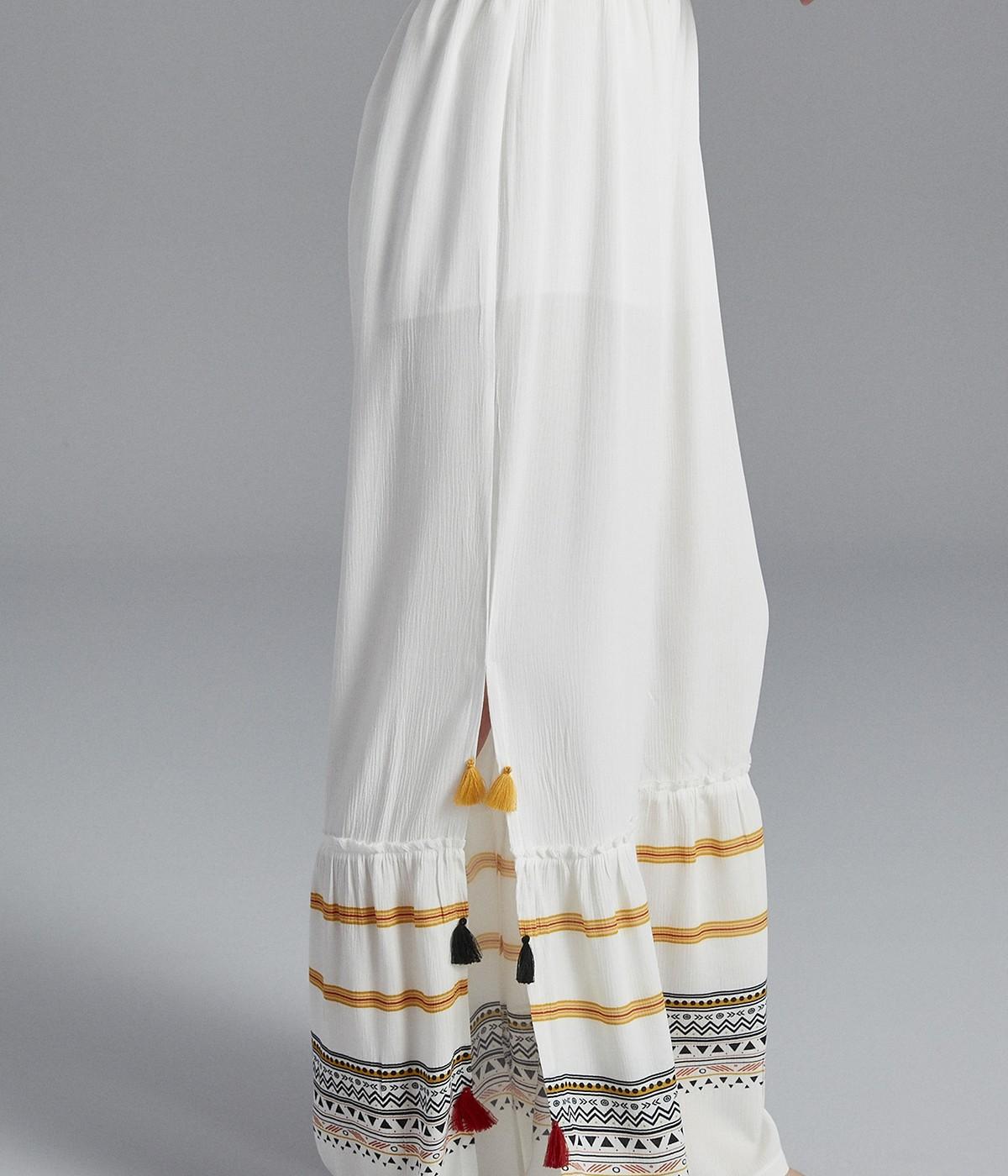 Tassel Side Pants