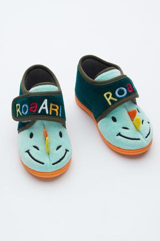 Boys Color Dino School Liner Socks