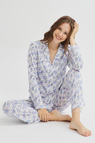 Set Pijama Blue Blossom