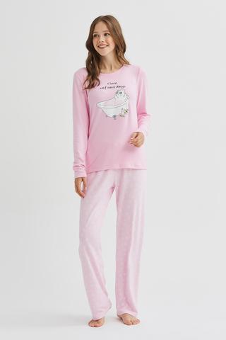 Set Pijama Self Kitten Thermal