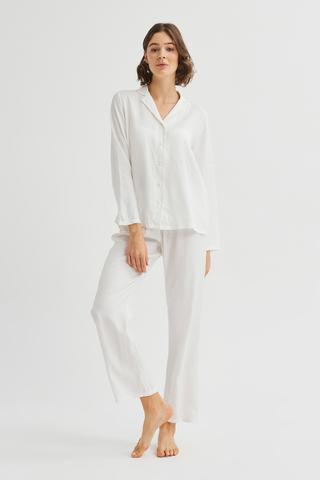 Set Pijama Bridal Blanche