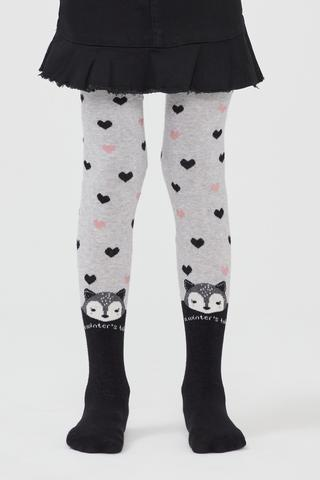 Pretty Heart Fox Tights