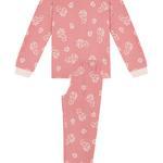 Set Pijama Feti?e Squirrel Thermal 2 Buc.