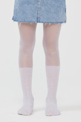 Pretty Foıly Dot Tights