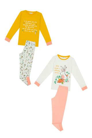 Girls Farmer 4 In 1 PJ Set