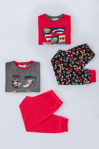 Boys Comics 4in1 PJ Set