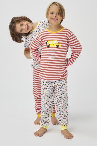 Set Pijama Baie?i Retro 4Buc.