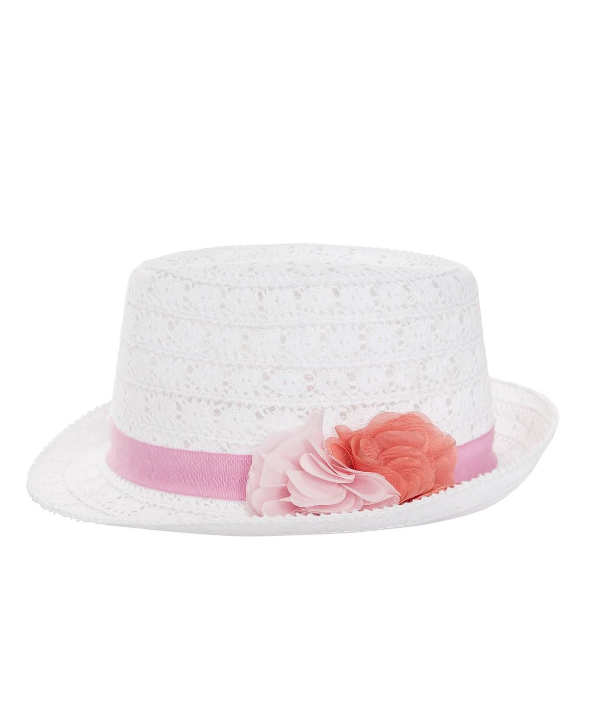 Girls Flower Hat