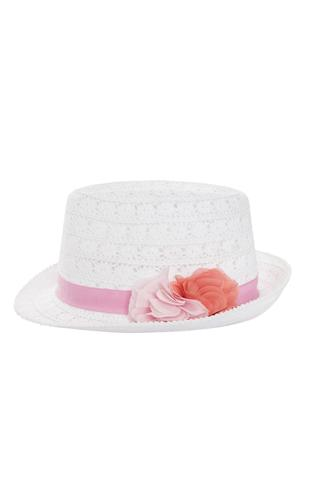 Girls Flower Hat