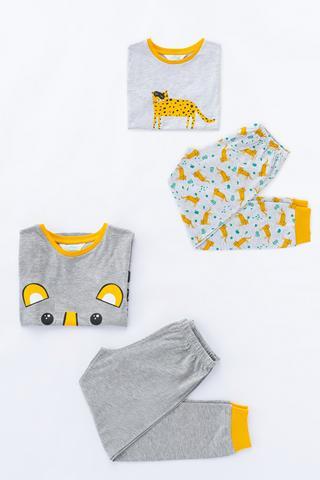 Set Pijama Barbate?ti Tiger SS 4 Buc.