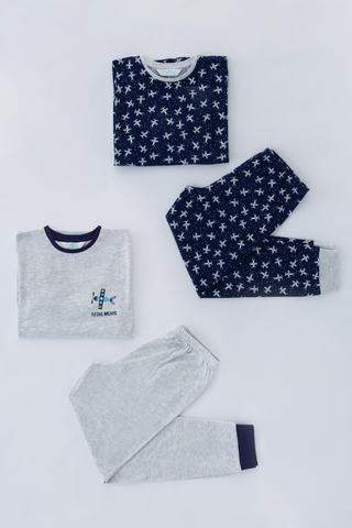 Boys Plane 4in1 PJ Set