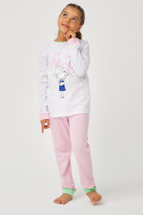 Set Pijama Feti?e Artist 2 Buc.