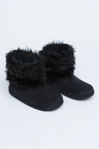 Papuci Furry Belt