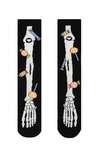 Girls Halloween High Knee Socks