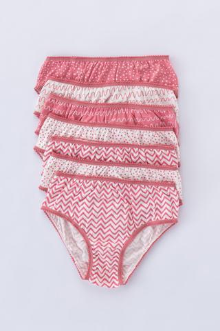 Girls Pattern 7in1 Slip