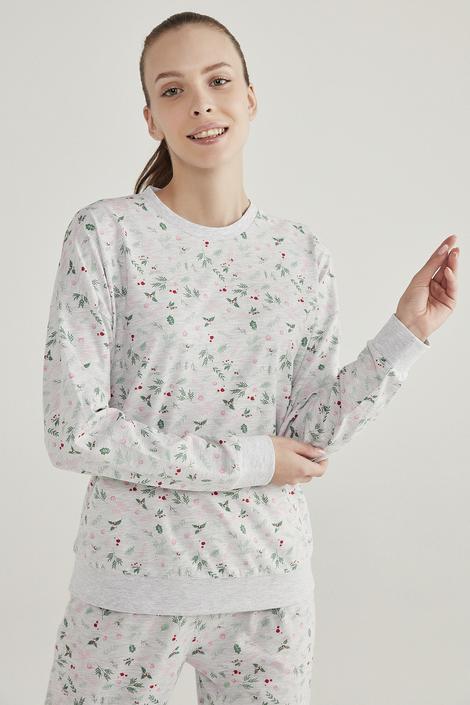 Set Pijama Grey Season