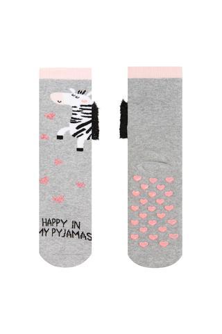 Girls Zebra Socks