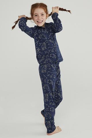 Set Pijama Fetite Stars