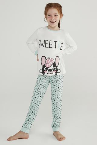 Set Pijama Feti?e  Sweetie Thermal 2 Buc.