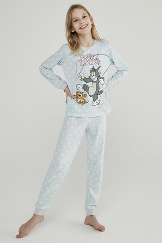 Set Pijama Teen Blue Tom&Jerry 2Buc.