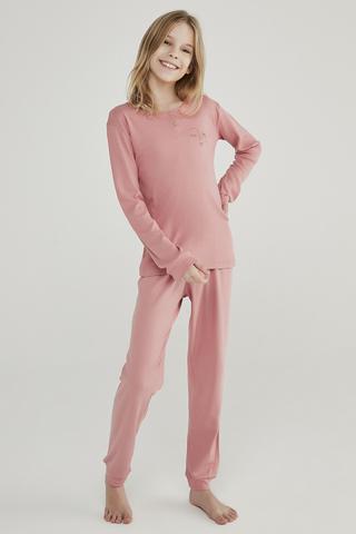 Set Pijama Teen Rib 2Buc