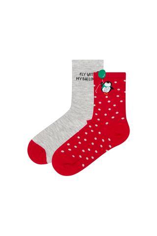 G.NY BALLOON PENGUIN 2LI Socks
