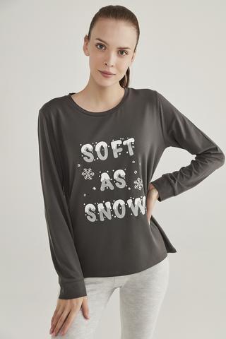 Hanorac cu Gluga Hot Tech Soft Snow