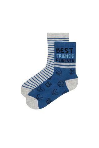 Boys Best Firends 2in1 Socks