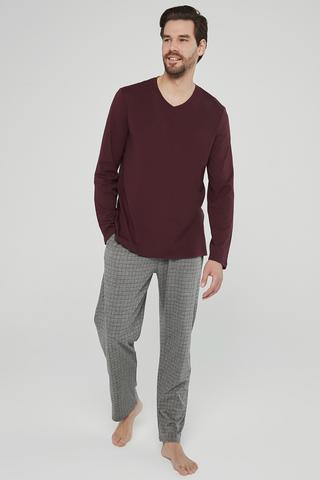 Set Pijama Burgundy