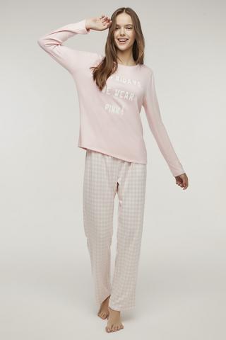 Set Pijama Termal Pink Friday