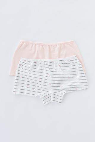 Girls Simple 2in1 Boxer