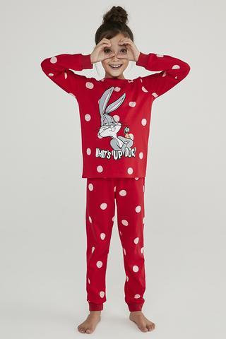 Set Pijama Fetite Bugs Bunny 2Buc.