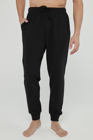 Pantoloni Basic Black Cuff
