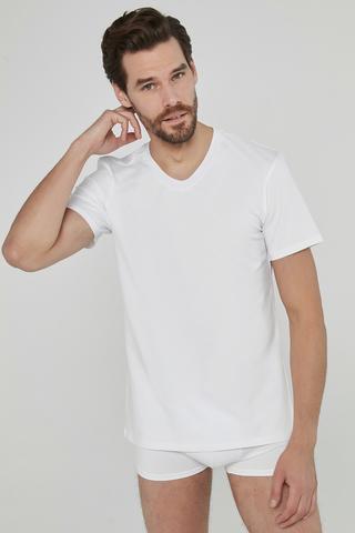 Bluza Basic V Neck Regular 2Buc.