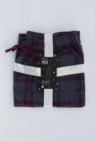 Pantaloni Gift Plaid
