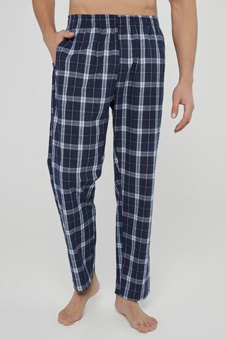 Pantaloni Navy Checky