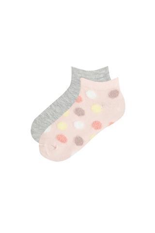 Girls MomGirl 2in1 Liner Socks