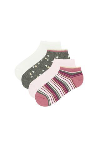 Girls Point 4in1 Liner Socks