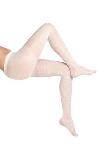 Ciorapi de iarn? cu plas? şi chilot Anet