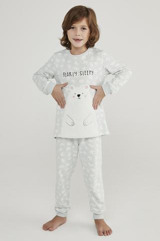 Set Pijama Baie?i Polar Bear Termal 2Buc.