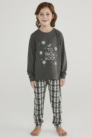 Set Pijama Baie?i Hot Tech Snow Good 2Buc.
