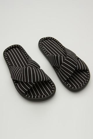 Cool Strıpe Slippers