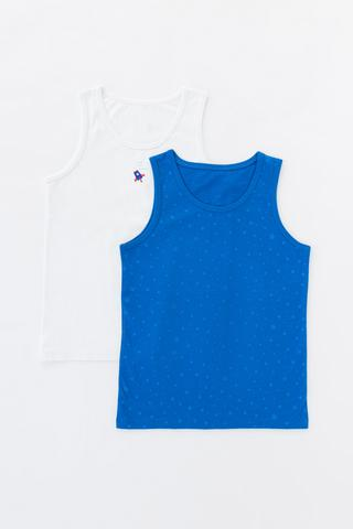 Boys Colorful Space 2In1 Cami