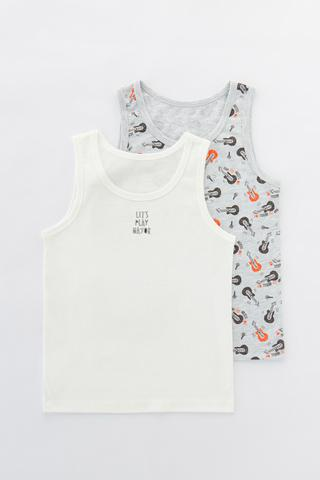 Boys Music On 2In1 Cami